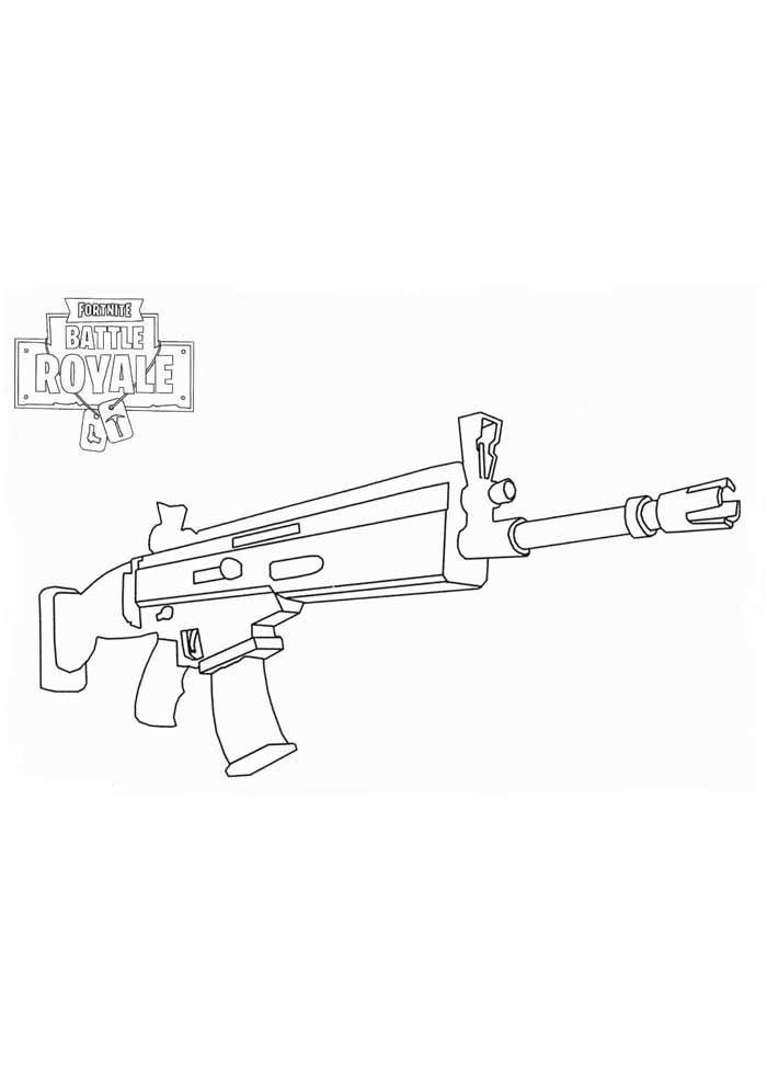 fortnite coloring page 5