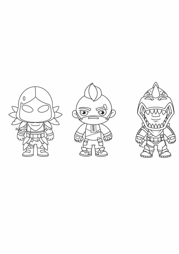 fortnite coloring page 9