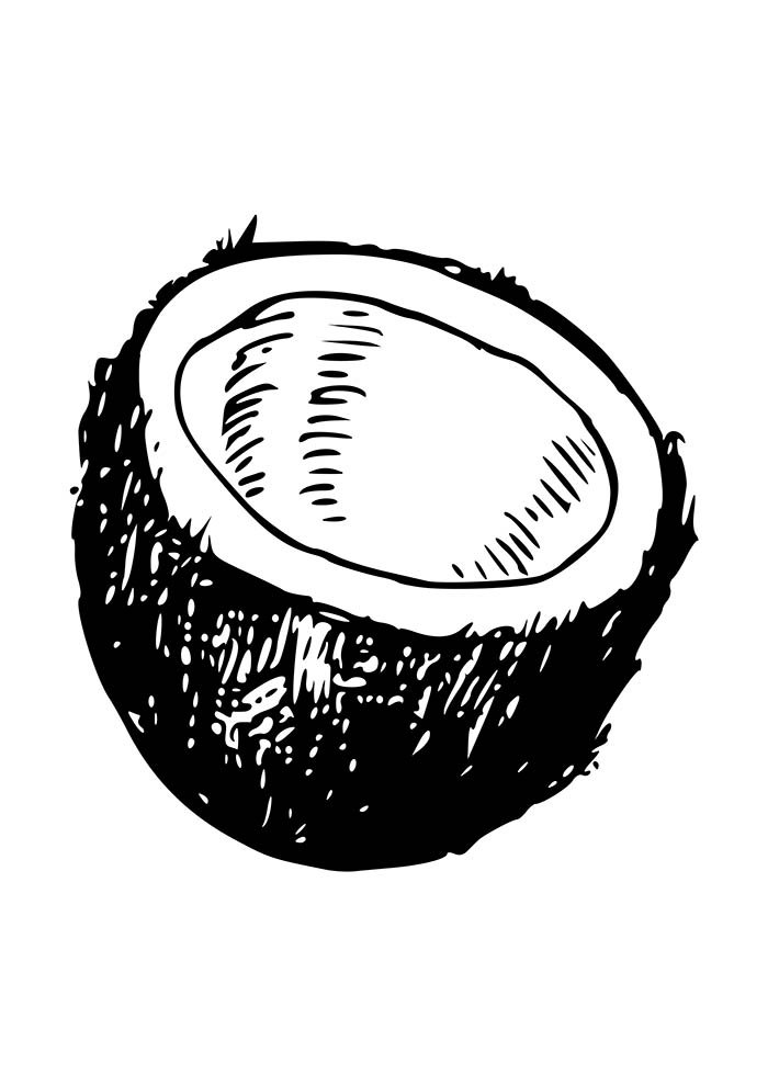 fruit coloring page 10