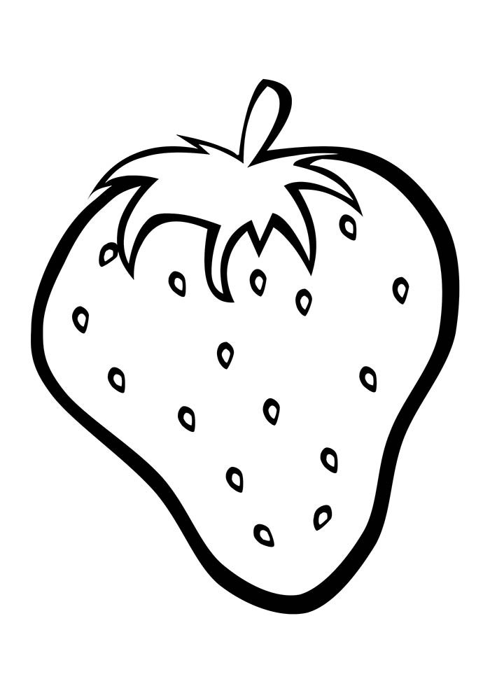 fruit coloring page 15