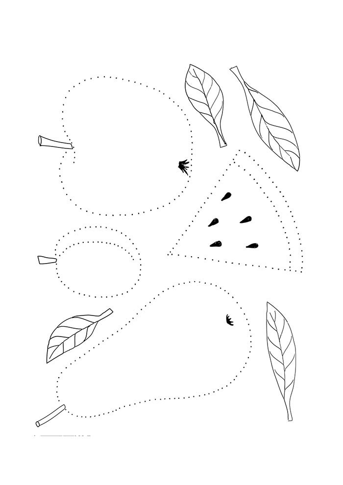 fruit coloring page 18