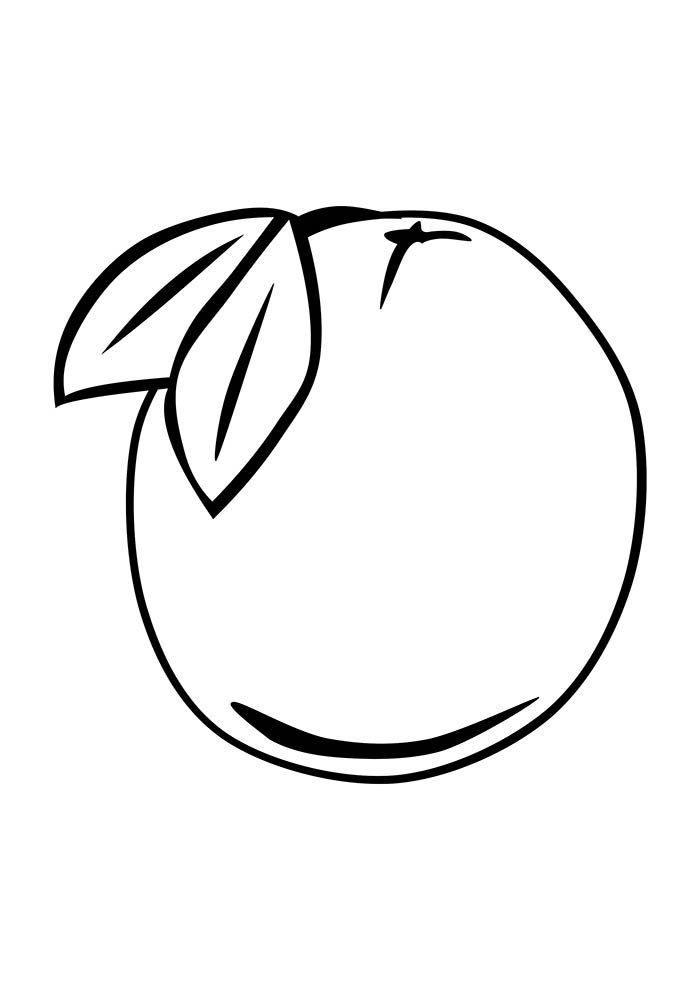 fruit coloring page 20