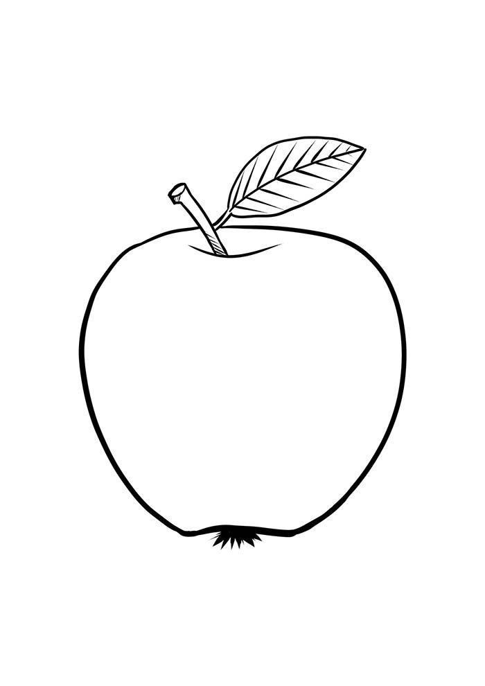 fruit coloring page 26