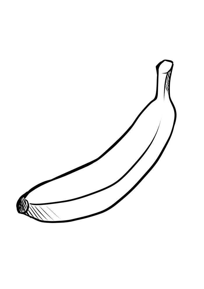 fruit coloring page 4