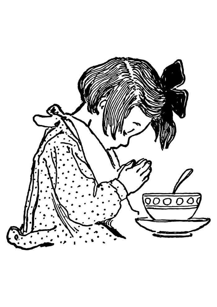 girl coloring page 13