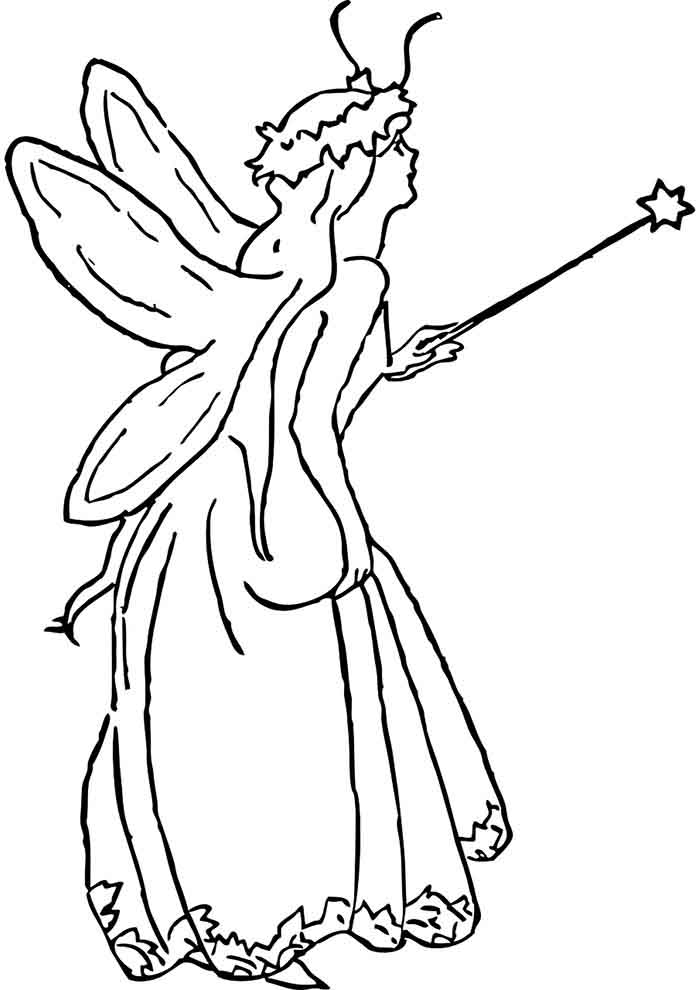 girl coloring page 16