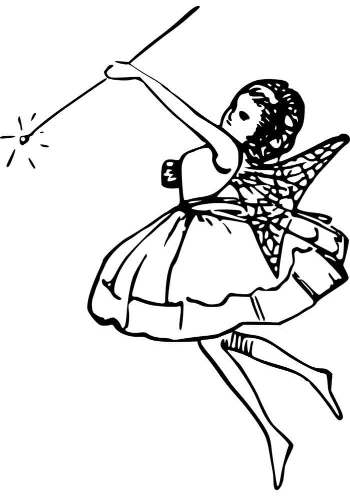 girl coloring page 17