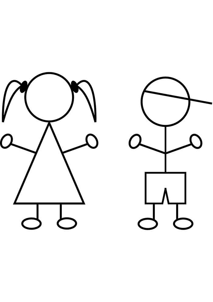 girl coloring page 19