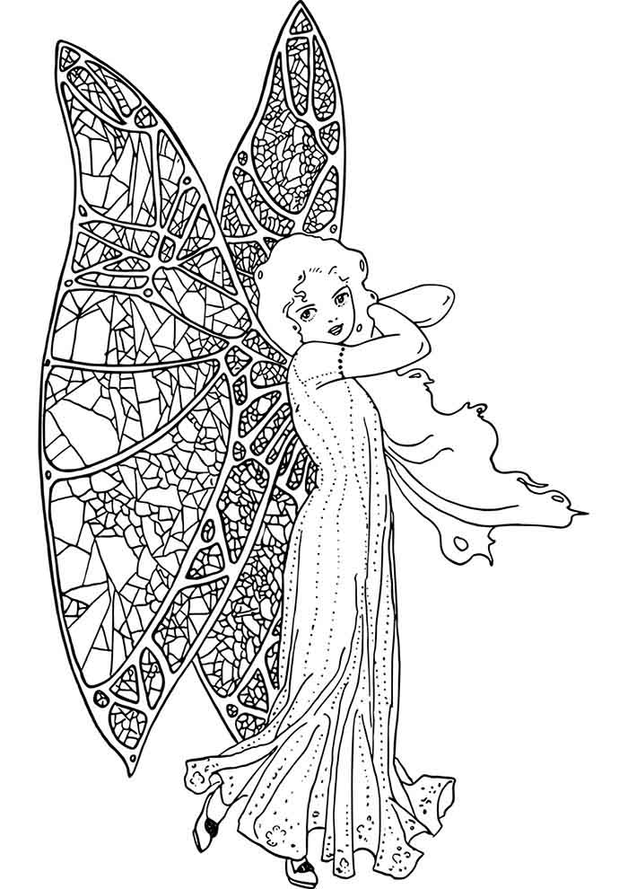 girl coloring page 20