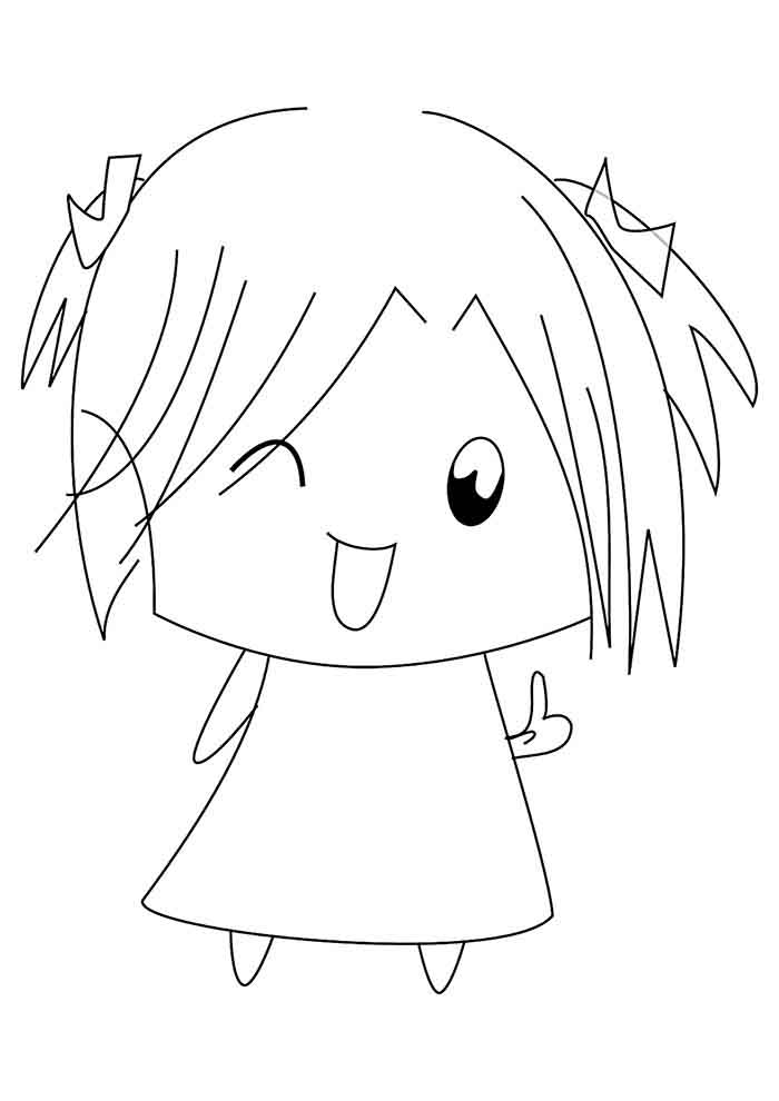 girl coloring page 30