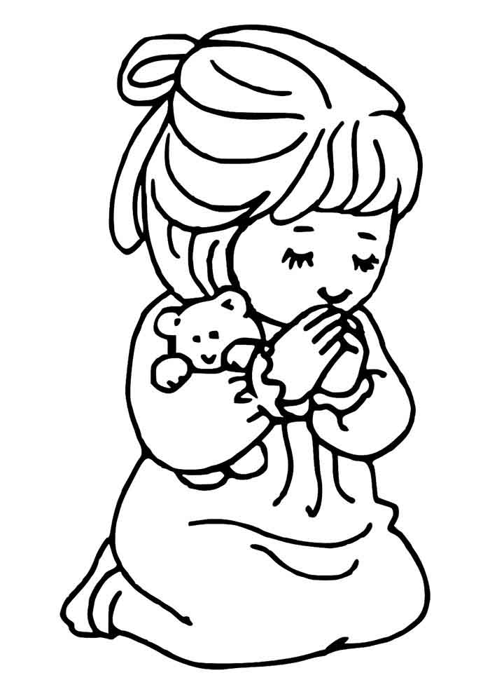girl coloring page 32