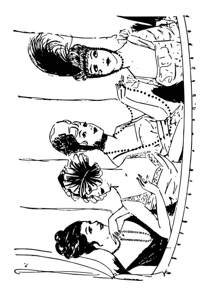 girl coloring page 33