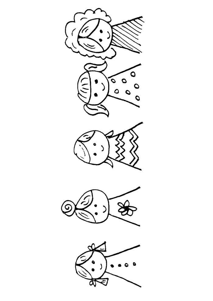 girl coloring page 35