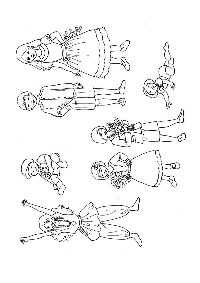 girl coloring page 36