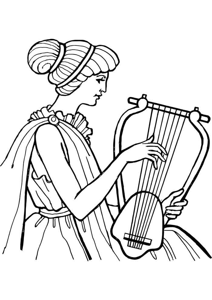 girl coloring page 41