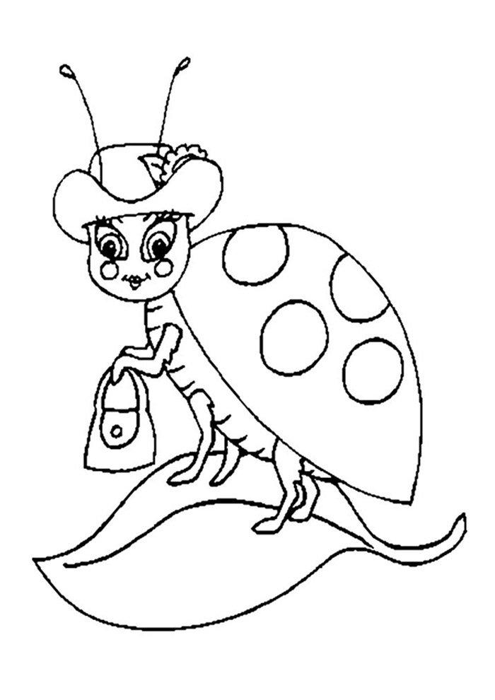 ladybug coloring page 14