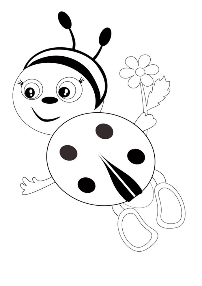 ladybug coloring page 15