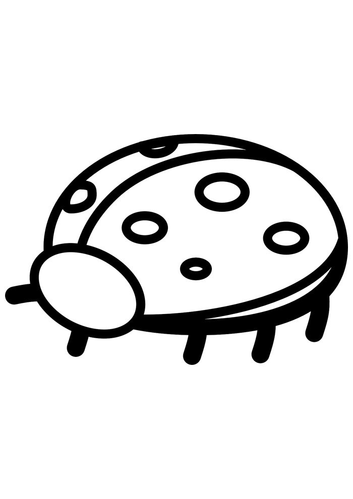 ladybug coloring page 8