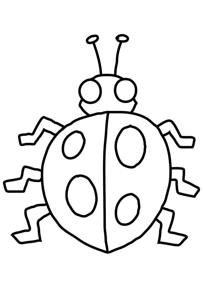 ladybug coloring page 9