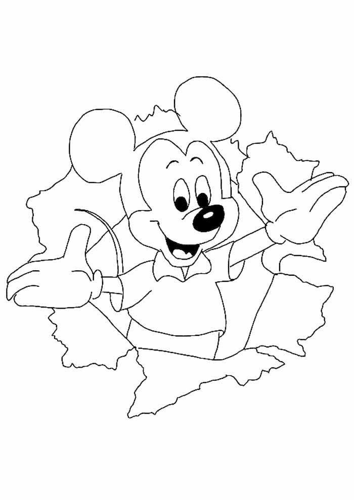 mickey mouse coloring page 22