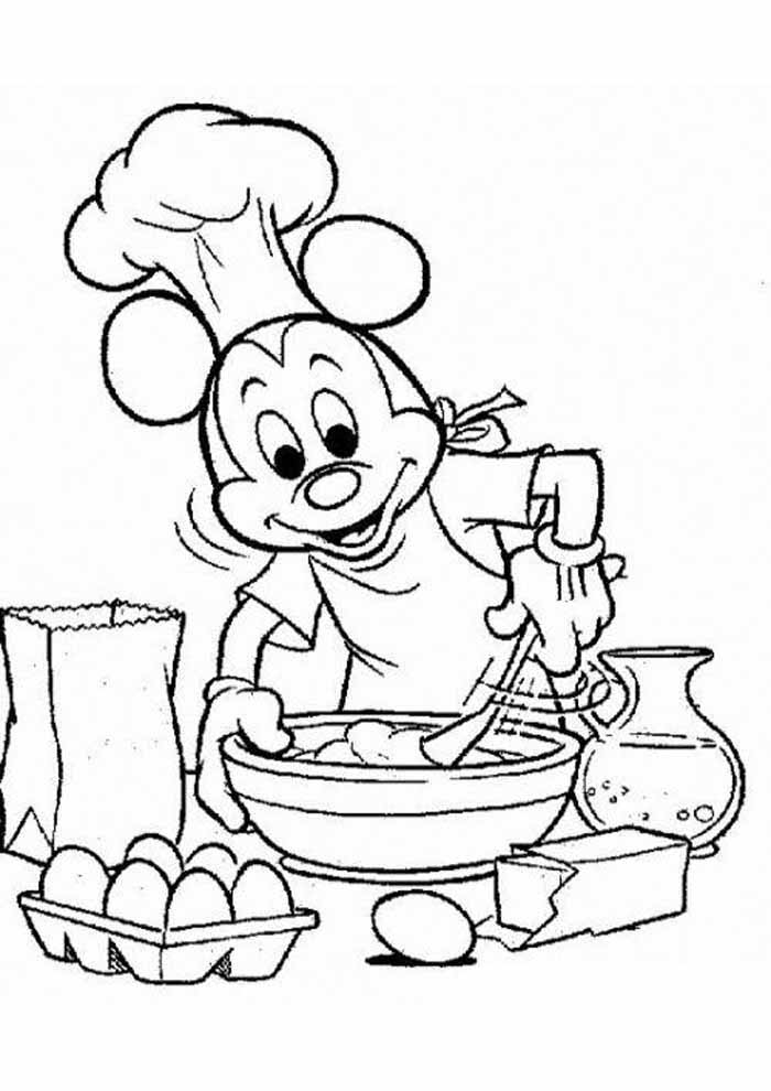 mickey mouse coloring page 23