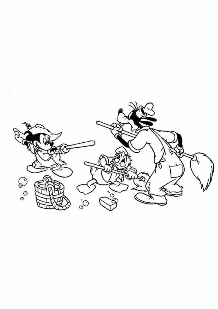 mickey mouse coloring page 31