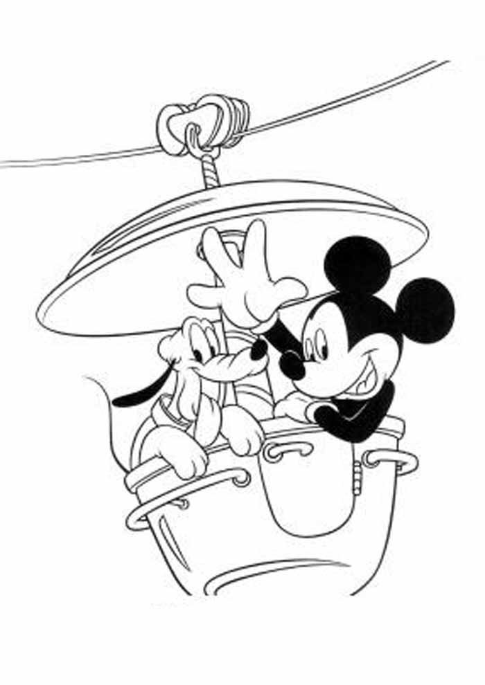 mickey mouse coloring page 33