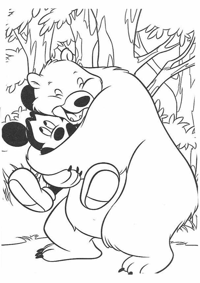 mickey mouse coloring page 38