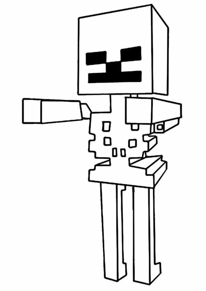 minecraft coloring page 15