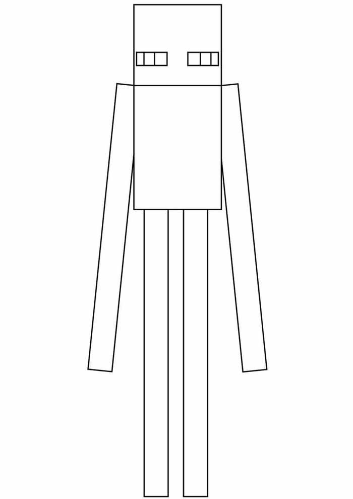 minecraft coloring page 46