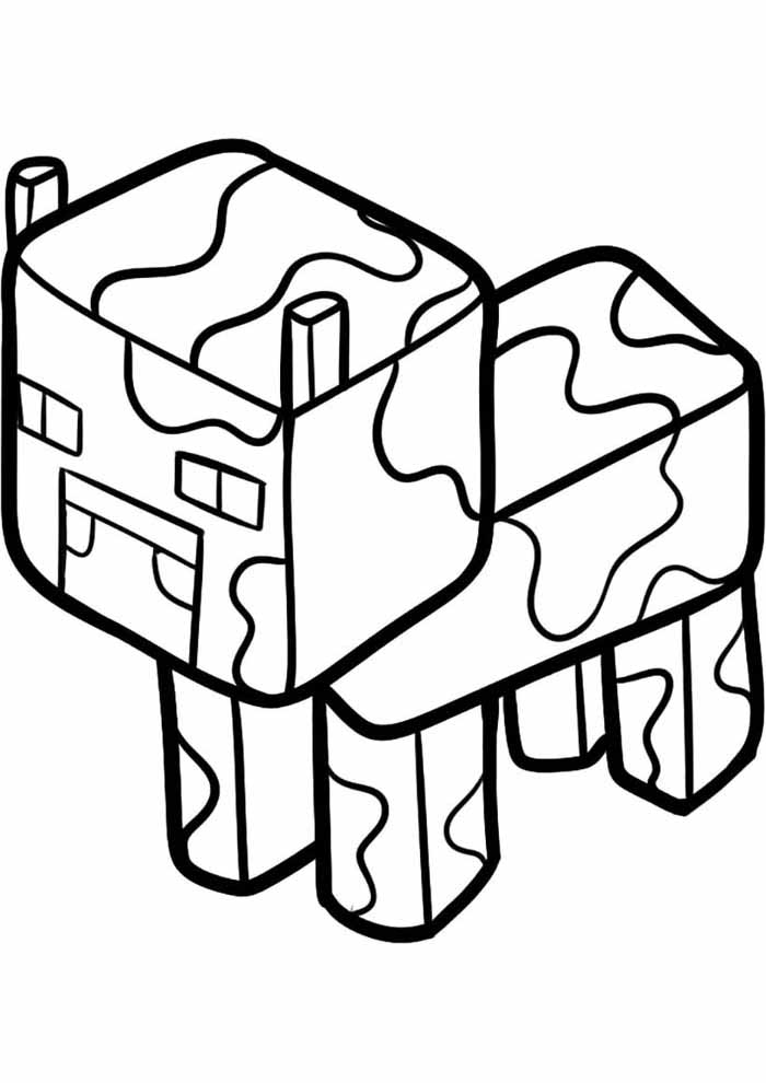 minecraft coloring page 53
