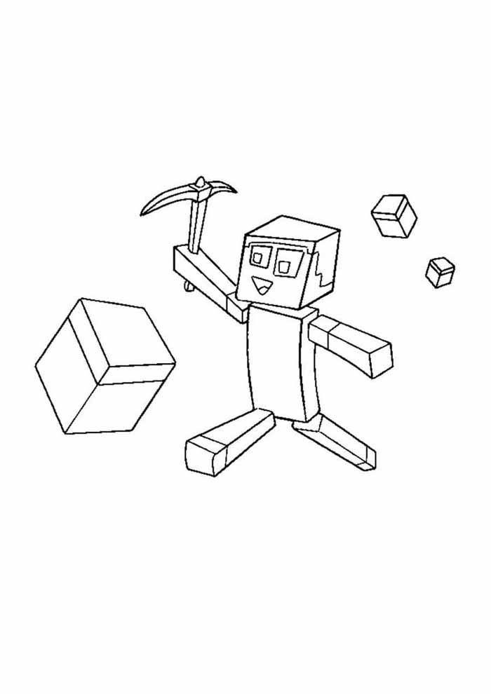 minecraft coloring page 63