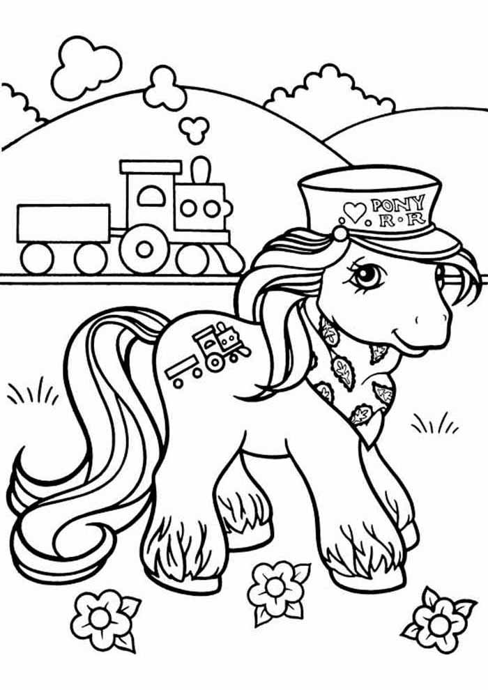my little pony coloring page 14
