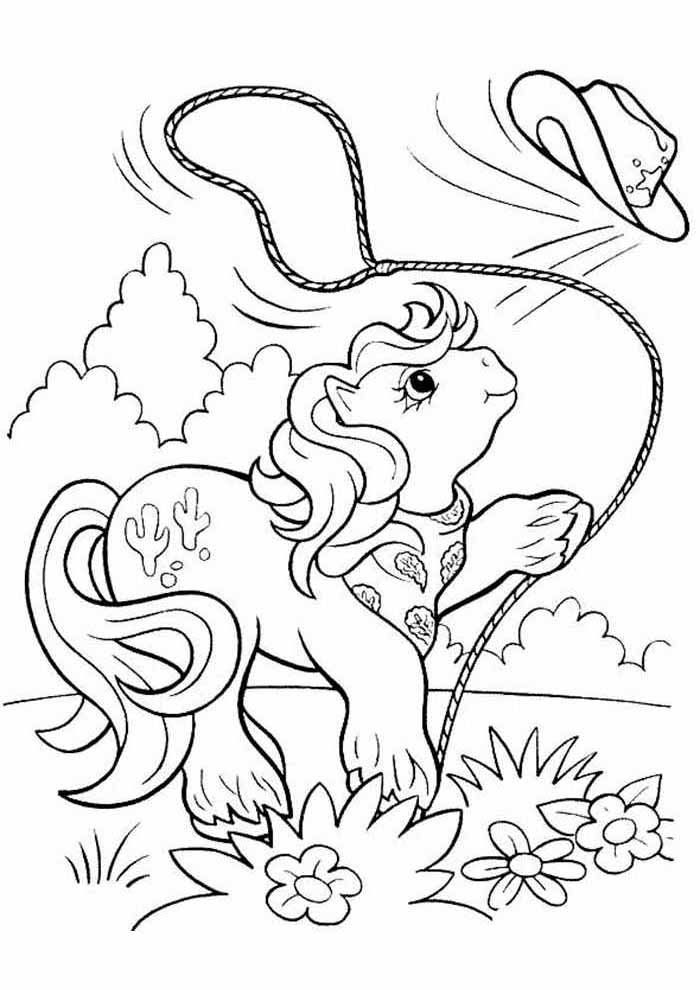 my little pony coloring page 15