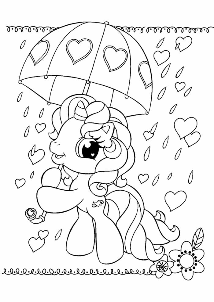 my little pony coloring page 17