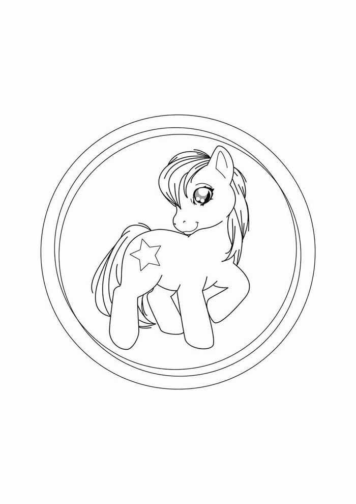 my little pony coloring page 3