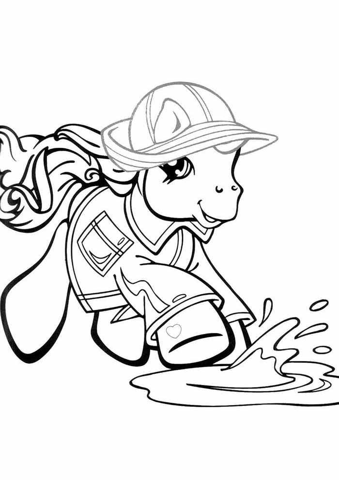 my little pony coloring page 6