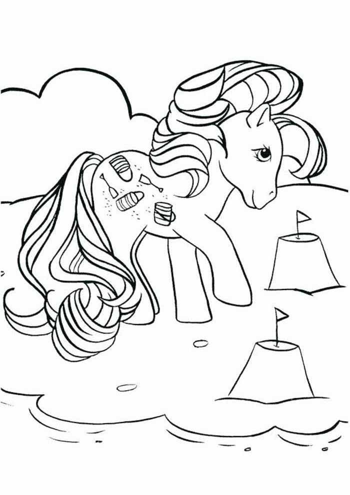 my little pony coloring page 9