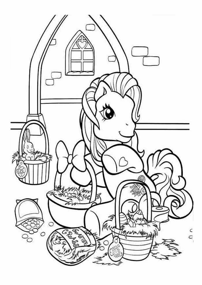 my little pony para colorear 16