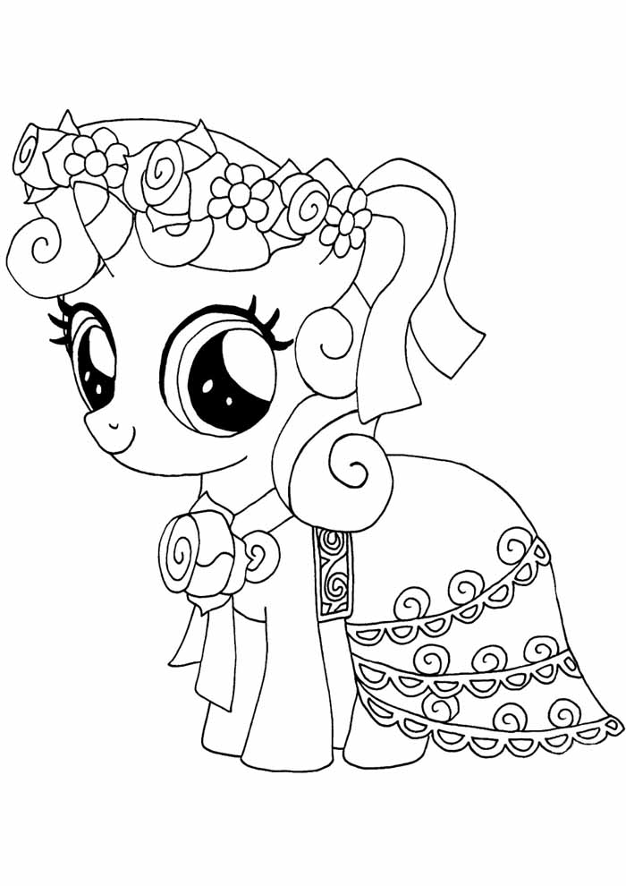 my little pony para colorear 18