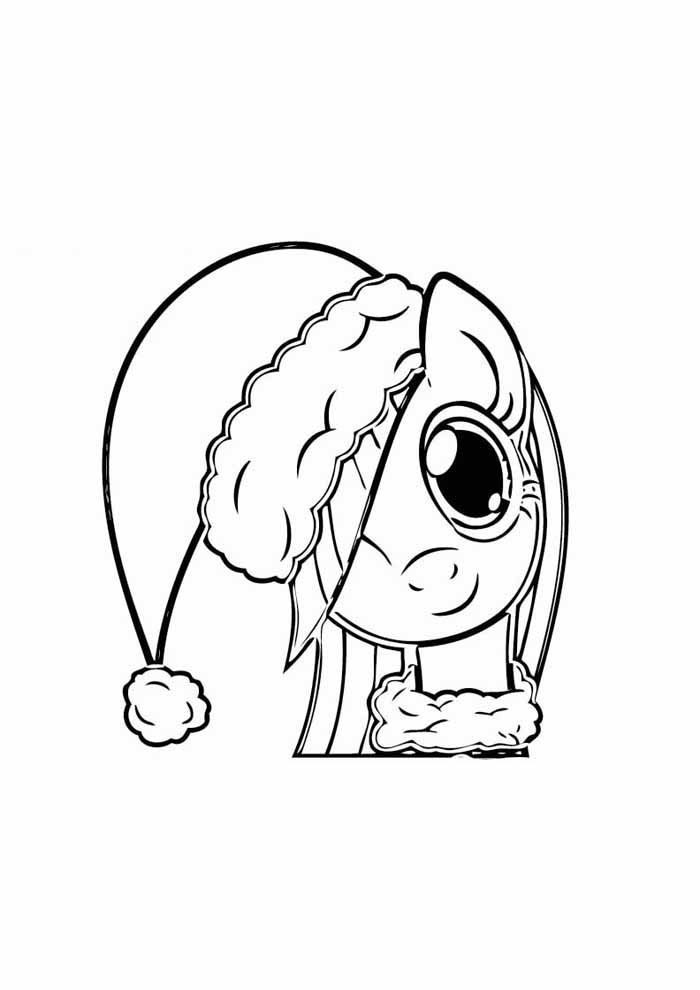 my little pony para colorear 2