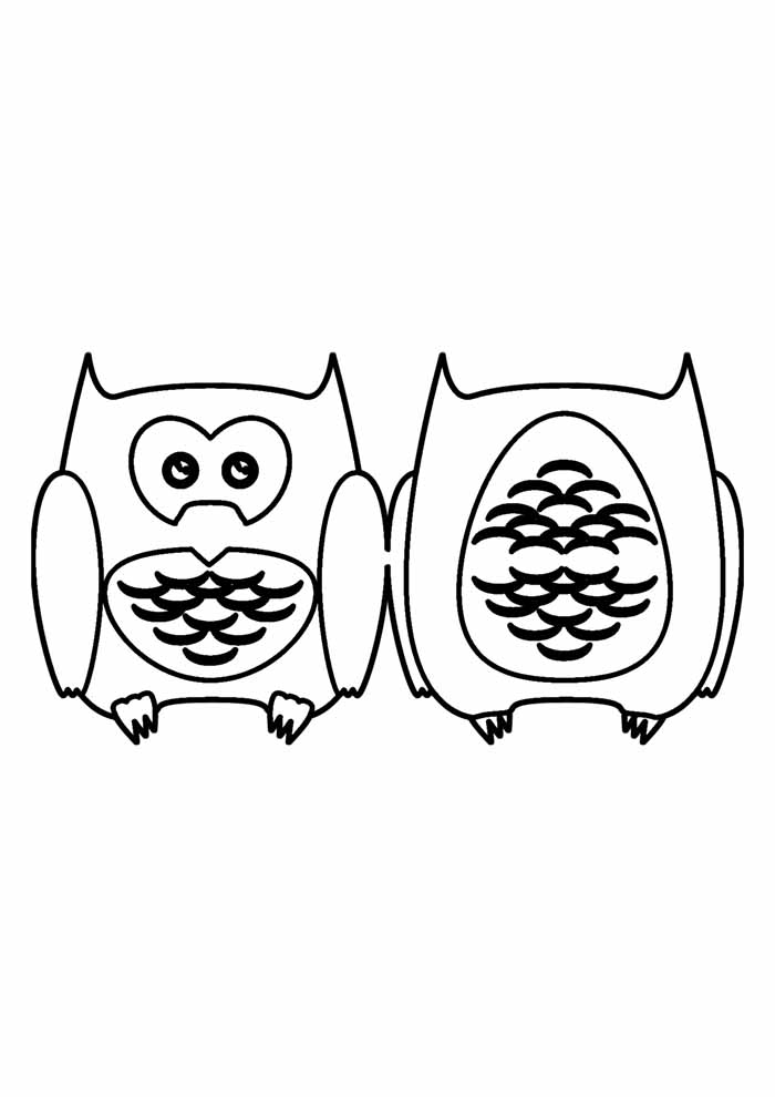 owl coloring page 24