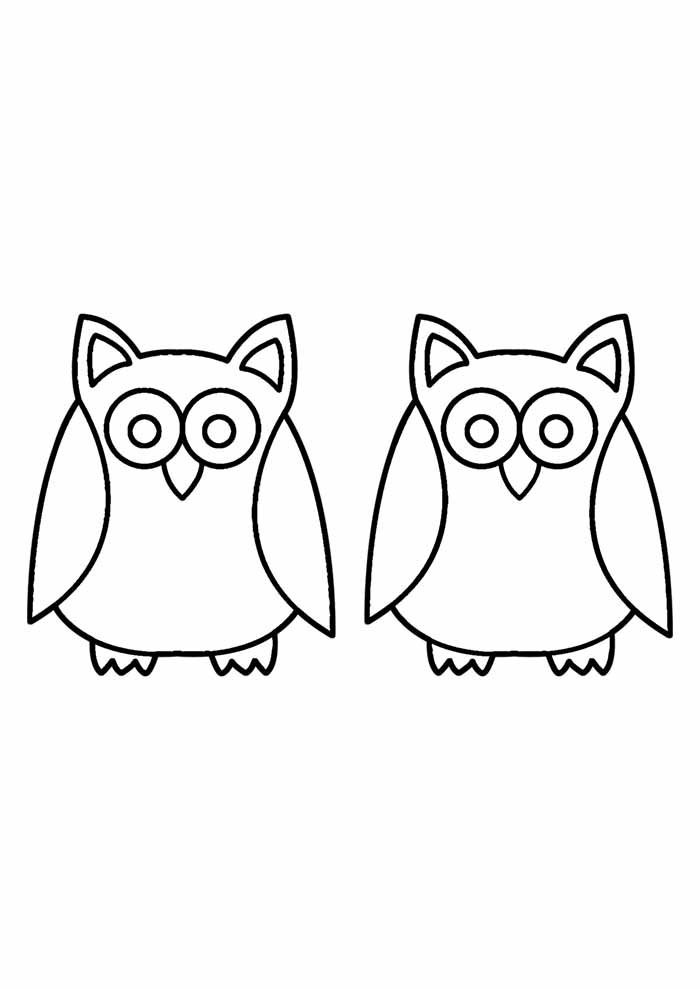 owl coloring page 30
