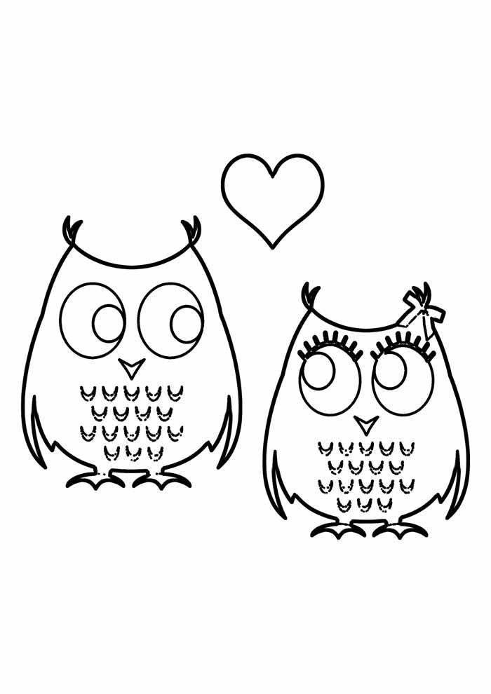 owl coloring page 41