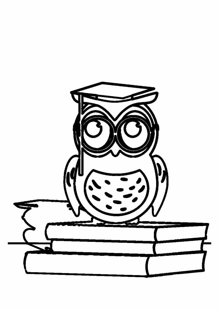 owl coloring page 42