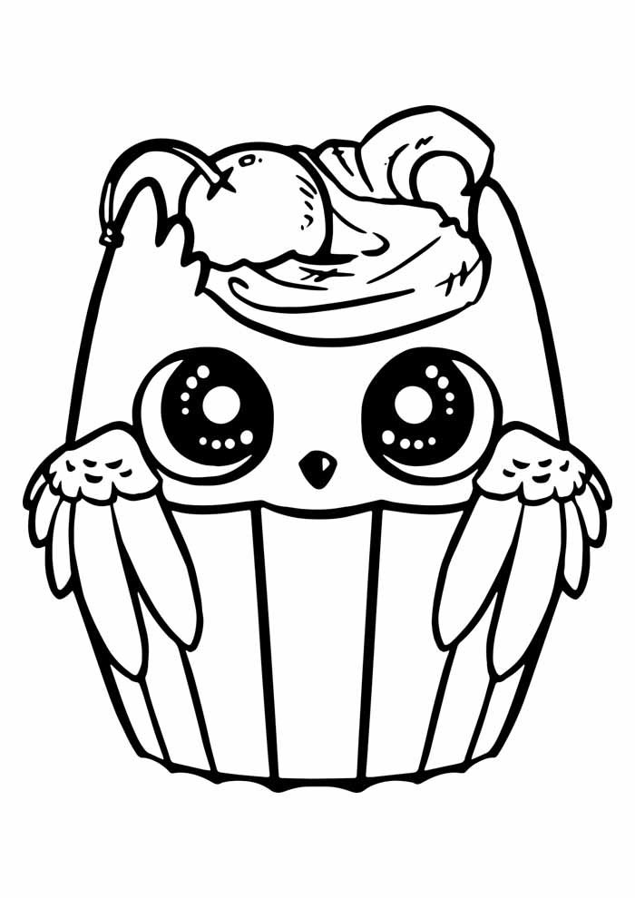 owl coloring page 9