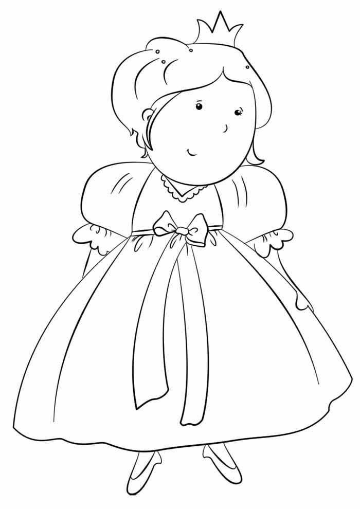 princesas para colorear 23