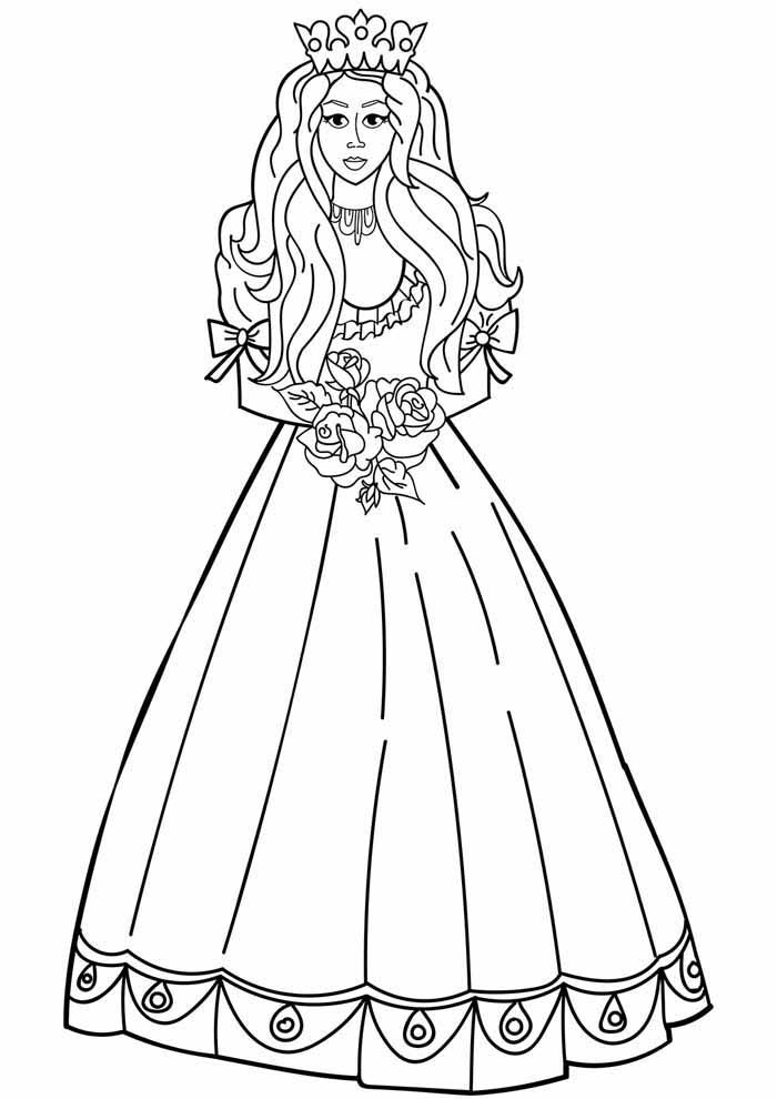 princesas para colorear 27