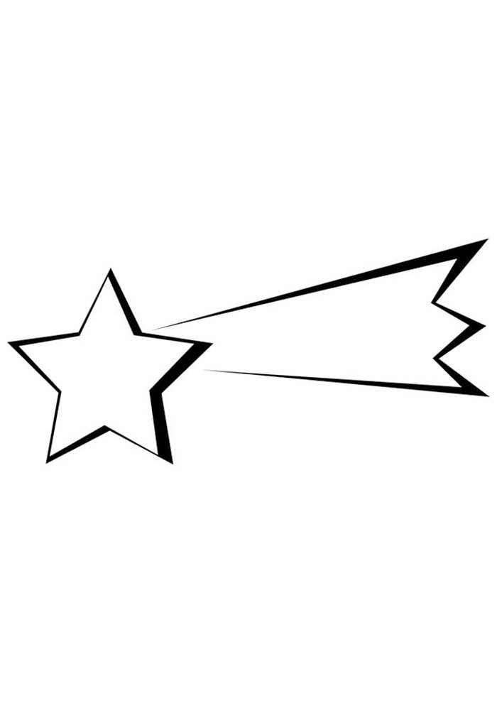 star coloring page 15