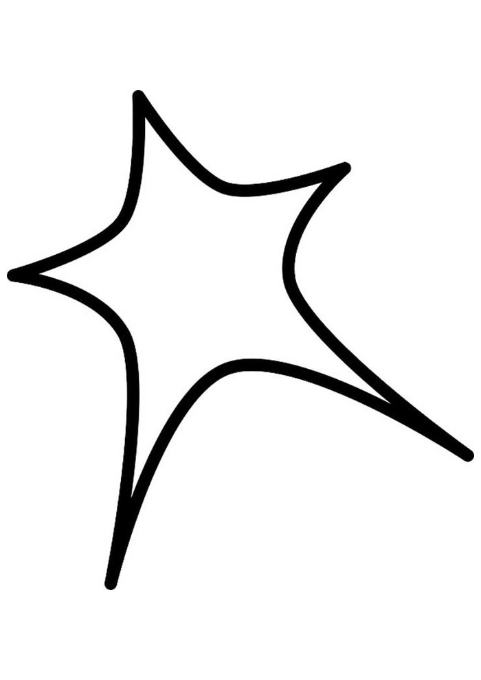 star coloring page 48